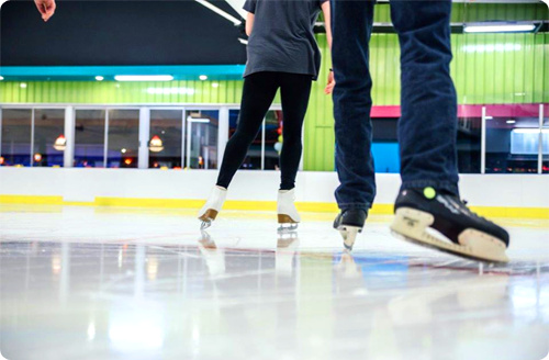 Galleria Ice Rink | Month-end Marvels Prize